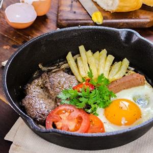 ベトナムの牛ステーキ