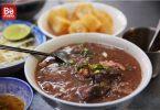 Co GiangにおけるBa Ut店の豚の内臓入り粥(チャオロン)2