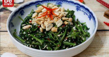 空芯菜サラダ2