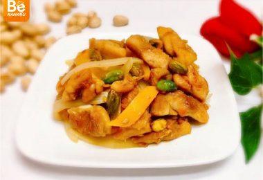 栗と鶏肉の炒め物2