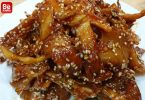 甘酸っぱい干しイカの料理-5