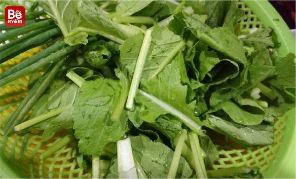 エビと小松菜のスープ-0