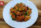ニンニク、魚醤油と揚げ鶏むね肉の煮込み1