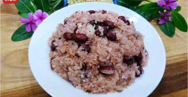 赤飯(小豆ともち米蒸し)2