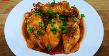 イカの肉詰めトマト煮-04